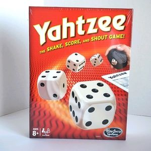 YAHTZEE NEW Classic Board Game for Kids